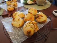 茨城県土浦市の小さなパン教室* ルソレイユ*10月はカボチャ三昧のレッスンです♪ - 土浦・つくば の パン教室 Le soleil