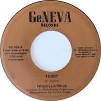 Priscilla Price ‎– Funny / Only Yesterday - まわるよレコード ACE WAX COLLECTORS