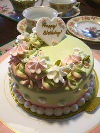 アニバーサリーのバースディケーキ - K's Sweet Kitchen