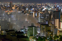 新栄で火事 - 千種観測所