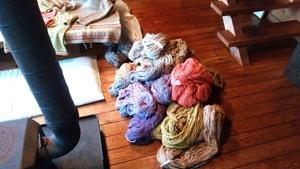 霧ヶ峰の染織家さん -