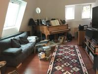 屋根裏部屋のweb内覧会 リビング - 築90年のアパートで遊民生活