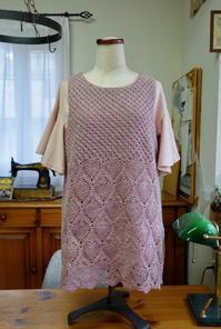 同型2種のチュニック完成しました。 - Crochet Atelier momhands