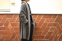 mizuiro ind::Wool Fleece drape Cardigan - JUILLET