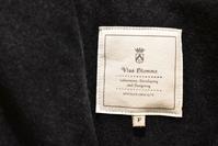 Vlas Blomme::Linen Wool Enfold Coat&Penguin Pants - JUILLET
