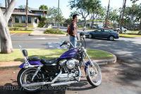 バイクとハワイ - ゆらゆら 自転車 空ばかり