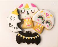 ハロウィンアイシングクッキー - 調布の小さな手作りお菓子教室 アトリエタルトタタン