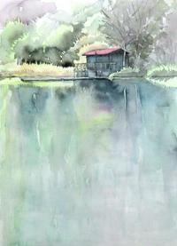 秋のボート小屋 - ryuuの手習い