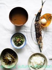 秋刀魚の味 - serendipity blog