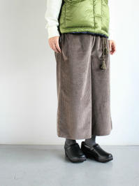 SLOW HANDSWide Cord Gypsy Pants (LADIES SELECT) - 『Bumpkins putting on airs』