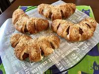 マスタードウィンナーレッスンとワンプレート - カフェ気分なパン教室  ローズのマリ