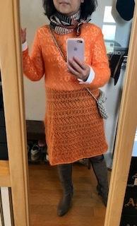 3代目オレンジモヘア - 着まわせない