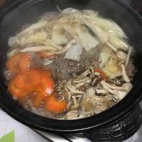 肉吸い鍋 - おうちやさい