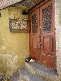 ギリシャ猫とかのまき - すきっぷすきっぷらんらんらん