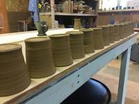 久々のウサジ工房 - 週末陶芸家 フジサキウサジ