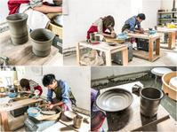 本日の陶芸教室 Vol.825 - 陶工房スタジオ ル・ポット