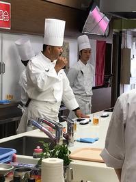 大阪成蹊短期大学の料理講習会と実習! - TOOTH TOOTH 総料理長 松下 平のブログ