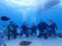 10月13日少しずつ天気も海も回復 - 沖縄・恩納村のダイビング・青の洞窟体験ダイビング・スノーケルご紹介