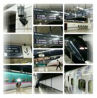 走る美術館『現美新幹線』が初めて上野駅から出発♪ - コグマの気持ち