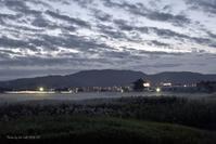 (平城宮跡ススキ情報??) 夜明け前に現代の奈良の町を眺める@ 記録 - 東大寺が大好き