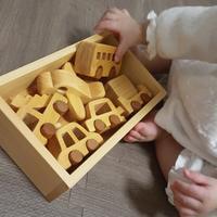 木のおもちゃ - れおママ育児日記