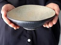 高木浩二さんの黒釉鉢 - warble22ya