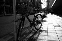 歩道の自転車 - 節操のない写真館