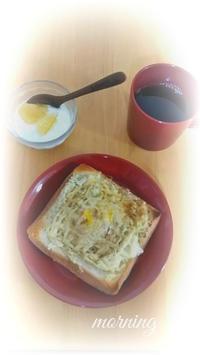 節約朝ごパン - 少ないもので豊かに