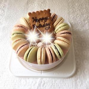 マカロンケーキ - お菓子教室 Atelier pomme