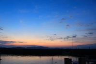 朝の風景。 - 青い海と空を追いかけて。