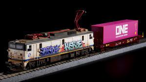 グラフィティカルチャーと鉄道模型の話 - 超音速備忘録