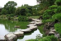 くもり空の清澄庭園 - お散歩写真     O-edo line
