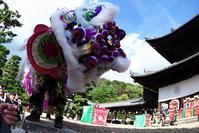お獅子が迫る黄檗山 萬福寺 - 心の万華鏡2