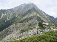 南アルプス白峰三山縦走Day2北岳から間ノ岳Mount Aino in Minami Alps National Park - やっぱり自然が好き