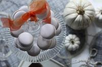 季節のマカロン&つくれぽが届きました~ - お菓子教室*Blue Kitchen*便り ~ a pleasant blue kitchen ~