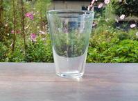 吹き屋のガラスコップ(ラッパ / トールサイズ) - SHIRAFUJI-BLOG