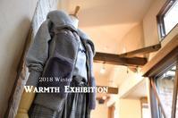 """2018 Winter Warmth Exhibition 開催中!...10/14sun"" - SHOP ◆ The Spiralという館~カフェとインポート雑貨のある次世代型セレクトショップ~"