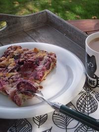 プラムケーキ - ベルギー 田舎季記