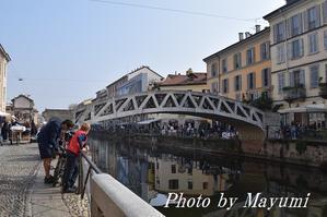 ナヴィリオ(運河)地区の美味しいレストラン@ミラノ♪ - ローマより愛をこめて