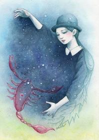 イラスト詩2 「星めぐりの歌 」宮澤賢治 - LoopDays     Sachiko's Illustration blog