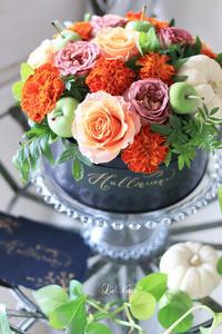 ハロウィンアレンジ - Le vase*  diary 横浜元町の花教室