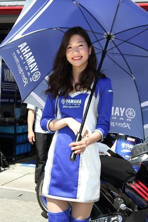 中嶋真緒 さん(YAMAHA RACING LADY) - Digital juicy