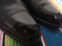 靴磨き日本選手権大会で使用されるトラディショナルワックス - 池袋西武5F靴磨き・シューリペア工房