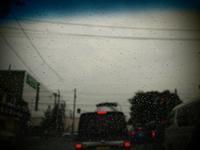 またまた雨に泣く - 空を見上げて