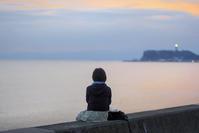 181014七里ヶ浜夕景 - 一人の読者との対話
