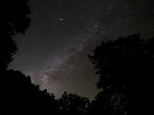 秋の銀河とアンドロメダ大星雲 #FUJIGFX50S - のんたんのデジタルな風景