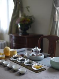 10月のお楽しみの中国茶 - お茶をどうぞ♪