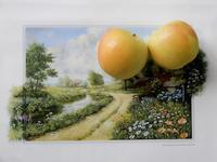 リンゴと ワンコと ニュートンと * Apple, Puppy, and Newton - ももさへづり*うた暦*Cent Chants d' une Chouette