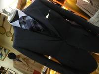 ネイビー無地スーツはやっぱし要るでしょう・・ - 倉敷オーダーセレクトショップ デボー