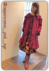 PINK HOUSE☆Coat Collection 2018① - 札幌路面店 PINKHOUSE INGEBORG ときめきの宝石箱
